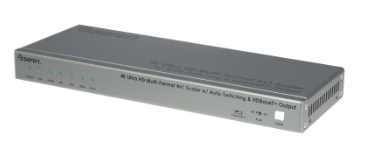 Gefen Now Shipping New 4K Ultra HD Multi-Format 4x1 Scaler/Switcher