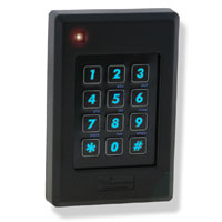 Delta 6.4H: Smart and Proximity Card Keypad Reader